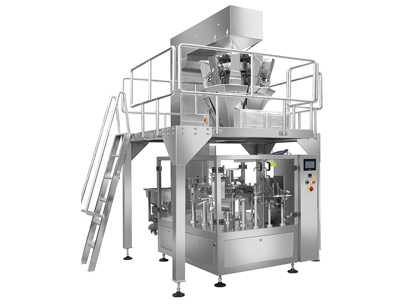 SLT-200GT-B Solid Particle Automatic Rotary Pouch Packaging Machine