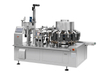 SLT-V100-A-B Bulk Weighing Bean Dried Rotary Pouch Vacuum Packaging Machine